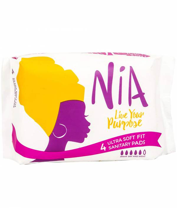NiA Ultra Soft Fit Sanitary Pads- 4 Pieces