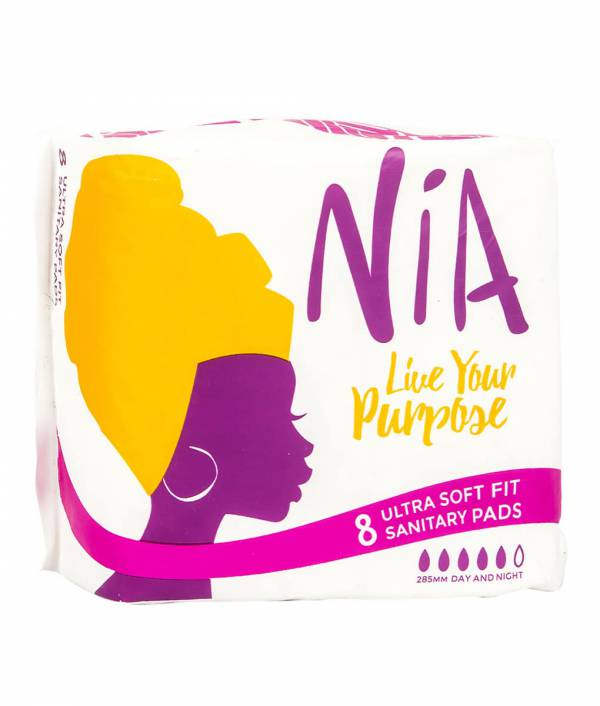 NiA Ultra Soft Fit Sanitary Pads- 8 Pieces