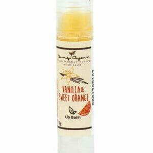 Vanilla & Sweet Orange Lip Balm