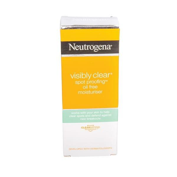 Neutrogena Visibly Clear Spot Proofing Oil Free Facial Moisturiser 50ml
