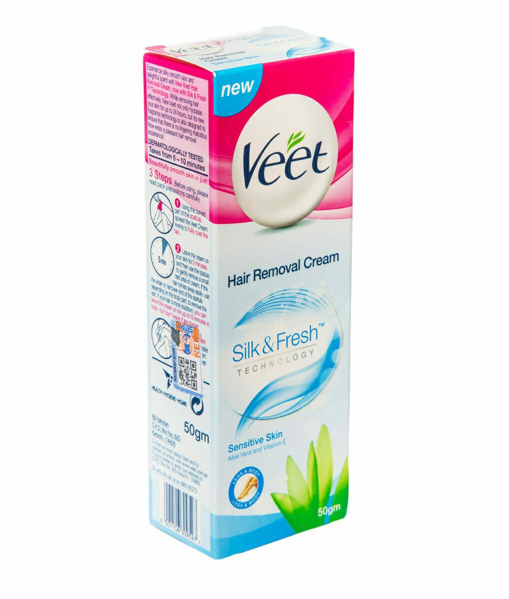 Veet Hair Removal Cream Sensitive Skin 50gm Kasha Kenyakasha Kenya