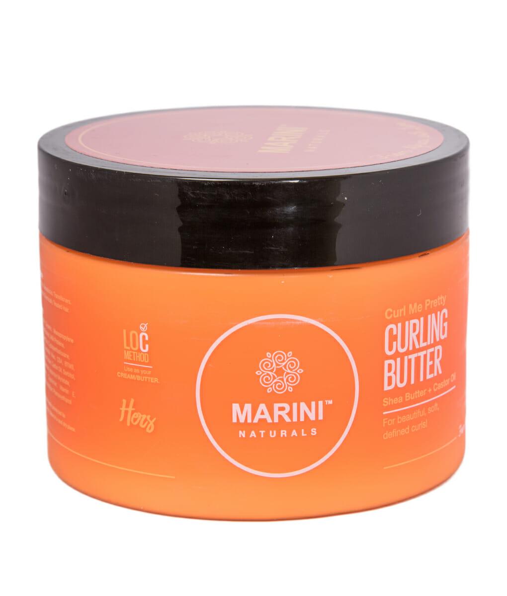 "Marini Naturals ""Curl Me Pretty"" Curling Butter 20g   Kasha ..."