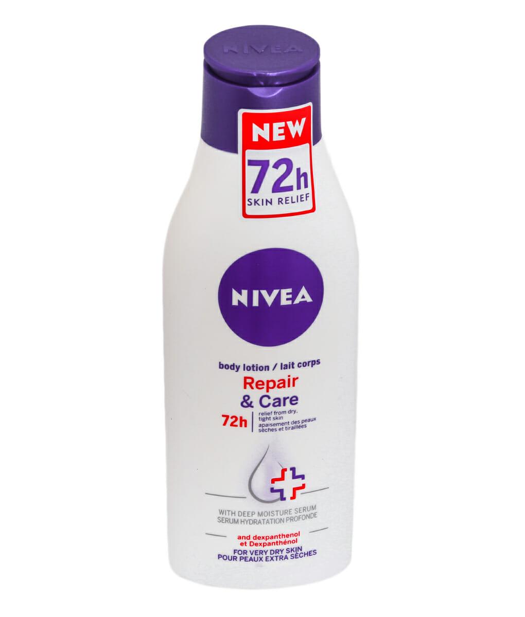 nivea body lotion 72h