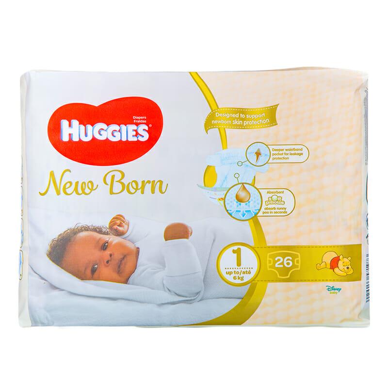 Huggies Newborn Diapers Size 1 26 Pieces Kasha Kenyakasha Kenya