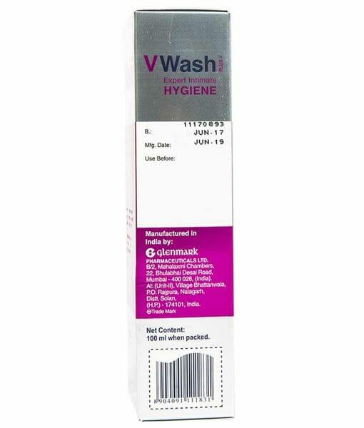 VWash Plus Intimate Hygiene Wash 100ml