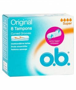 O.B Original Super Tampons 8 Pieces