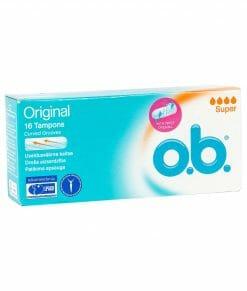 O.B Original Super Tampons 16 Pieces