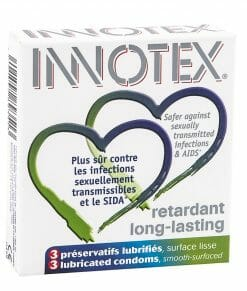 Innotex Long Lasting Condoms Pack of 3