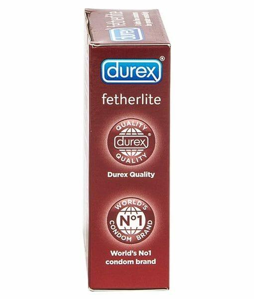 Durex Fertherlite Condoms 3 Pack