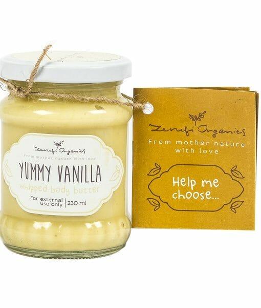 Yummy Vanilla Whipped Body Butter