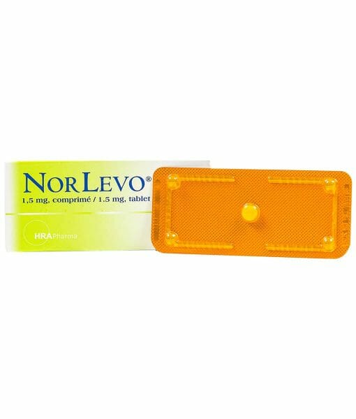 NorLevo Emergency Contraceptive Pill - 1 Tablet